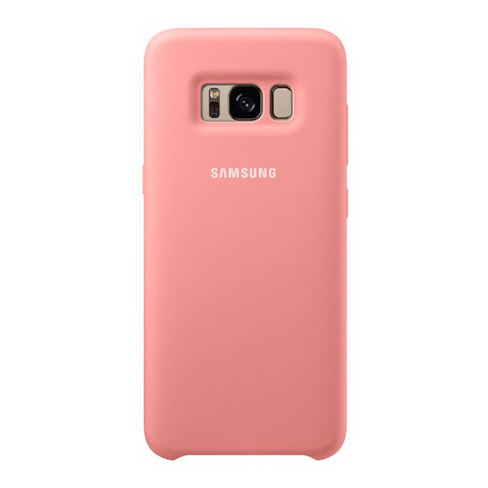 Чехол Samsung Silicone Cover для Samsung Galaxy S8 SM-G950, розовый