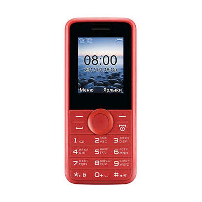 Сотовый телефон Philips E106 Red