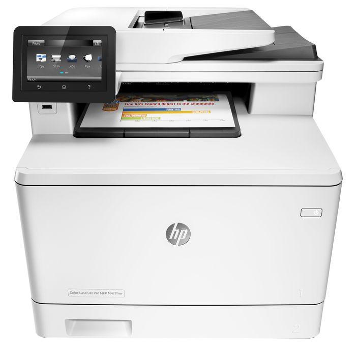 МФУ HP Color LaserJet Pro MFP M477fnw CF377A лазерное
