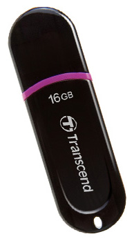 Флеш-диск 16Гб Transcend Jetflash 300 ( TS16GJF300 ) USB 2.0 Черный
