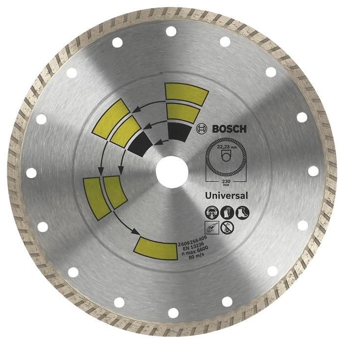 Алмазный диск универсальный Bosch DIY Turbo 125мм 2609256408