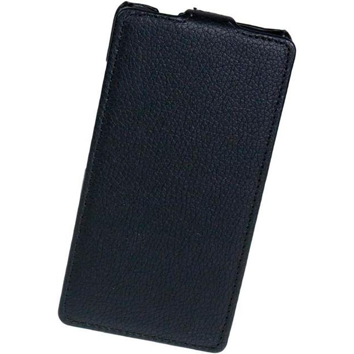 Чехол Flip-case для Fly IQ4412-Quad-Coral, черный