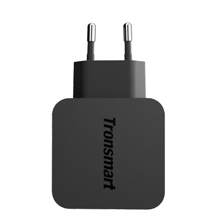 Зарядное устройство сетевое Tronsmart WC1T, Quick Charge 3.0, 1xUSB черный
