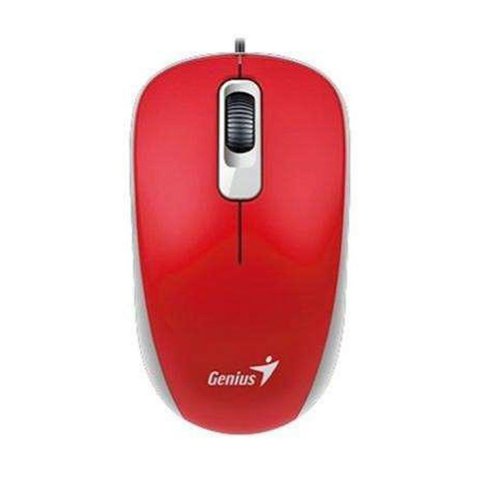 Мышь Genius DX-135 USB Red оптическая, проводная