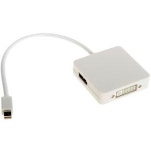 Адаптер Displayport mini (m) — HDMI/DVI/DisplayPort Vcom ( CG554 )