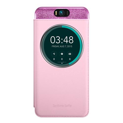 Чехол Asus MyView Cover Deluxe для Asus ZenFone Selfie ZD551KL розовый