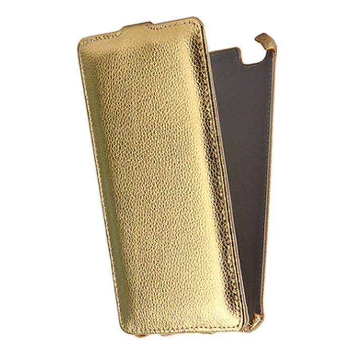 Чехол Gecko Flip case для Xiaomi Redmi 4A, золотистый