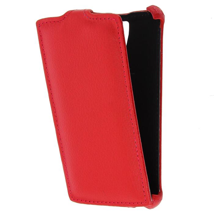 Чехол Gecko Flip-case для Lenovo A2010 красный