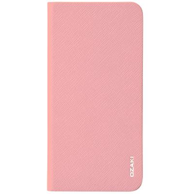 Чехол Ozaki O!coat 0.4 + Folio для iPhone 6 Plus/ iPhone 6s Plus, розовый