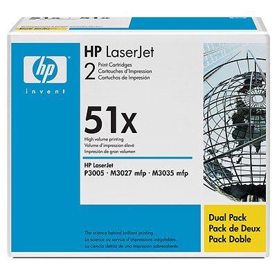 Картридж HP Q7551XD двойная упаковка