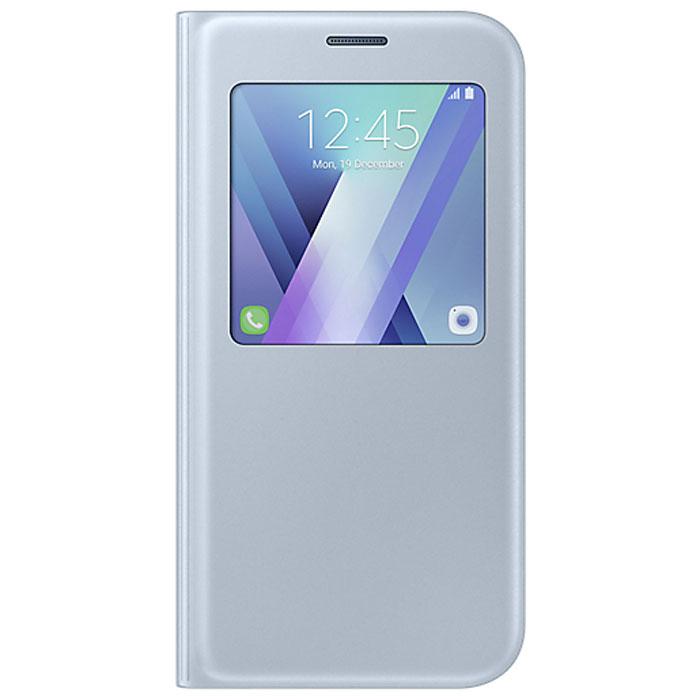Чехол S-View Standing Cover для Samsung Galaxy A7 (2017) SM-A720F, синий