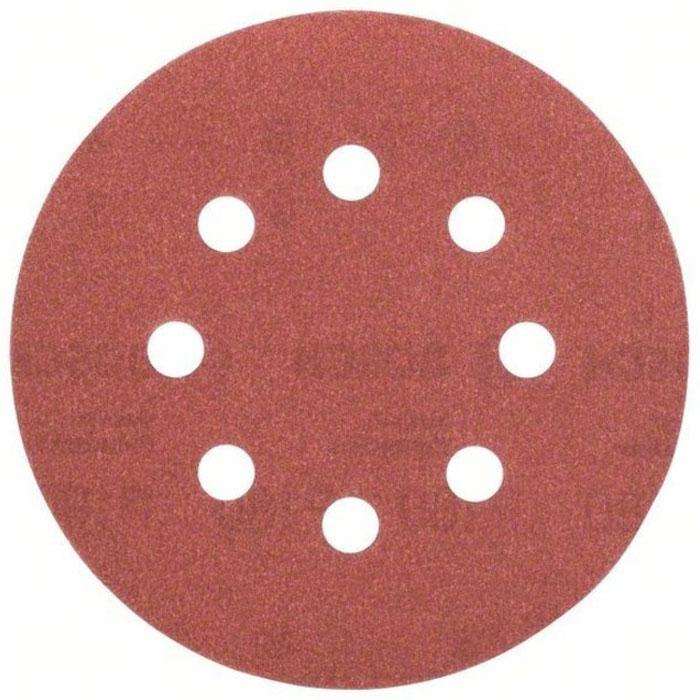 Набор шлифлистов по дереву/краске Bosch 125мм 180 зерно 5шт 2609256A26