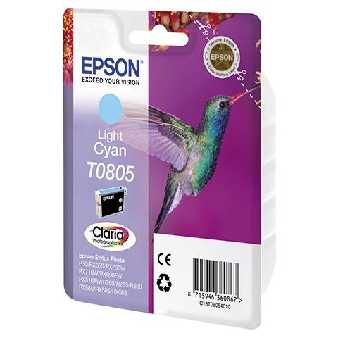 Картридж EPSON C13T08054011 Light Cyan для P50/PX660