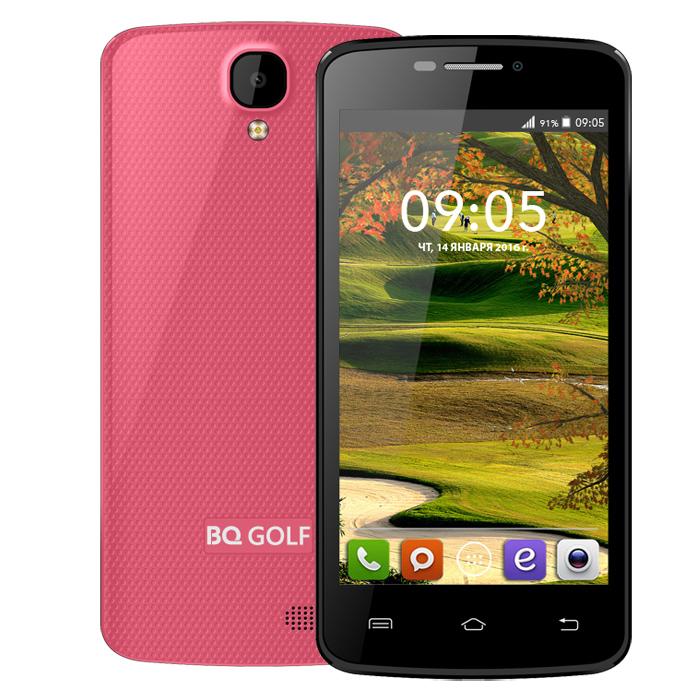 Смартфон BQ Mobile BQS-4560 Golf Rose