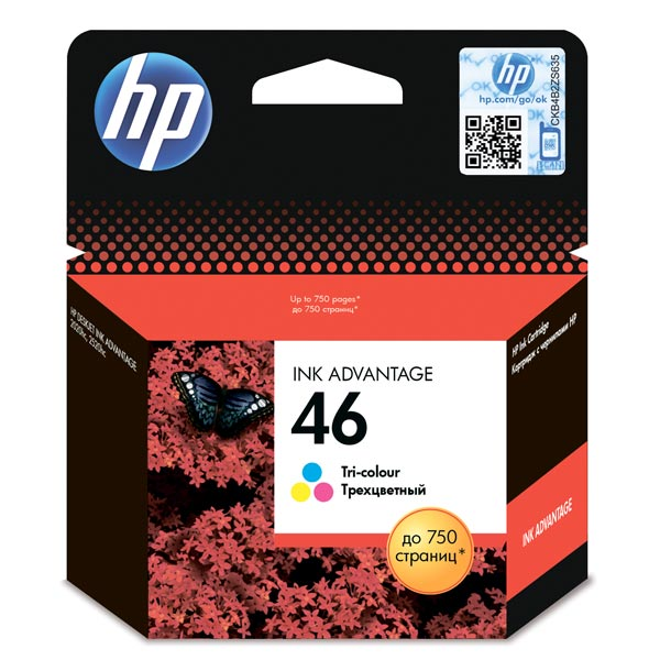 Картридж HP CZ638AE №46 Color