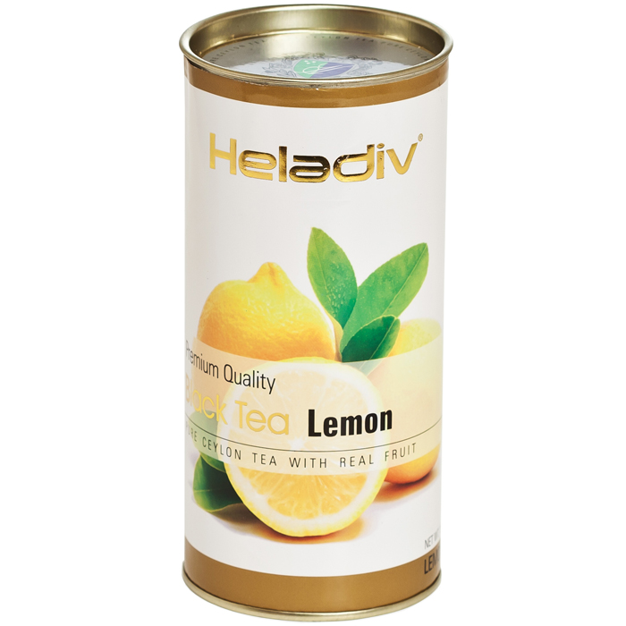 Чай чёрный листовой Heladiv Lemon 100 г