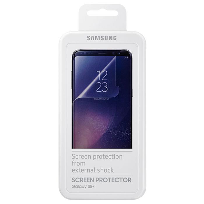 Защитная плёнка Samsung ET-FG955CTEGRU для Samsung Galaxy S8+ SM-G955, Прозрачная