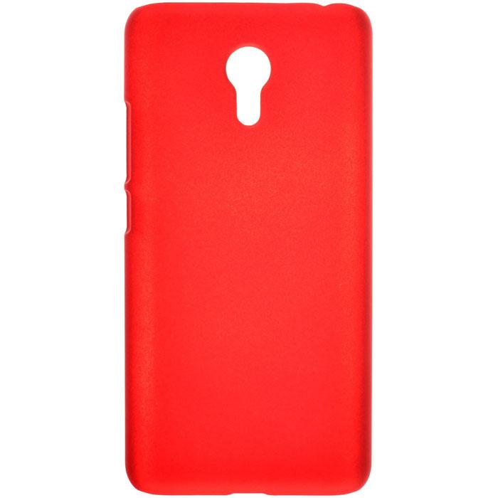 Чехол SkinBox 4People Shield case для Meizu M3 Note, красный