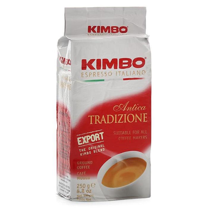 Кофе молотый Kimbo Export Antica Tradizione 250 гр в/у
