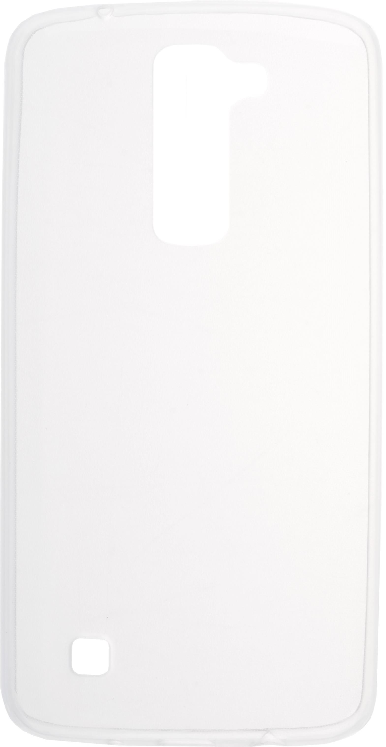 Чехол Skinbox slim silicone для LG K7 X210, прозрачный