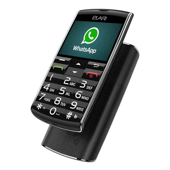Сотовый телефон Elari SafePhone Black