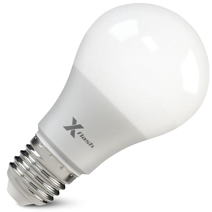 Светодиодная LED лампа X-flash Smart A60 E27 10W 220V белый свет, Gradual Free Dimming