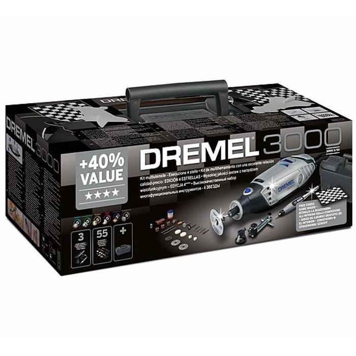 Многофункциональный инструмент Dremel 3000-3/55 (4 звезды) F0133000ML