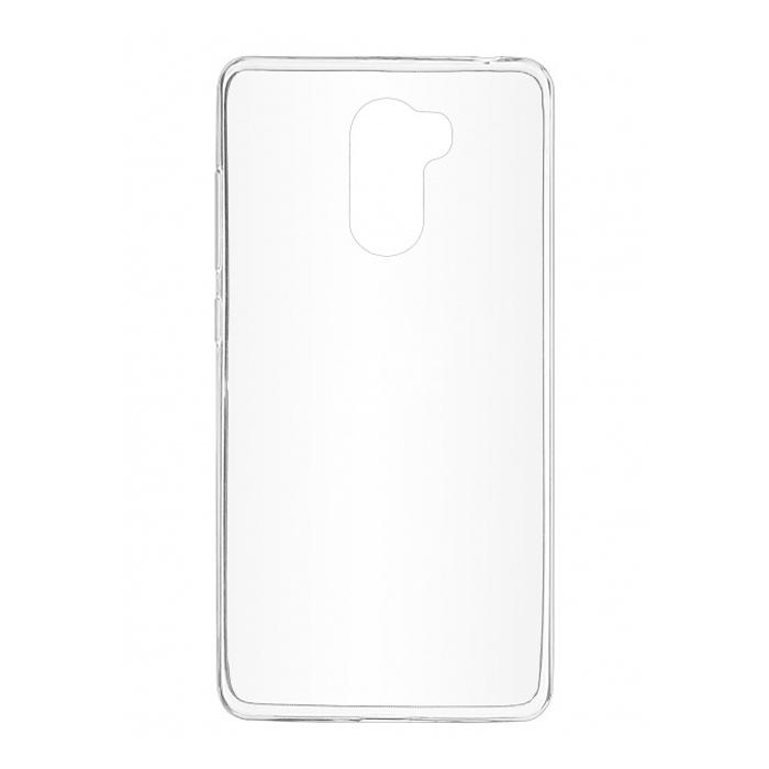 Чехол SkinBox 4People Slim Silicone case для Xiaomi Redmi 4, прозрачный