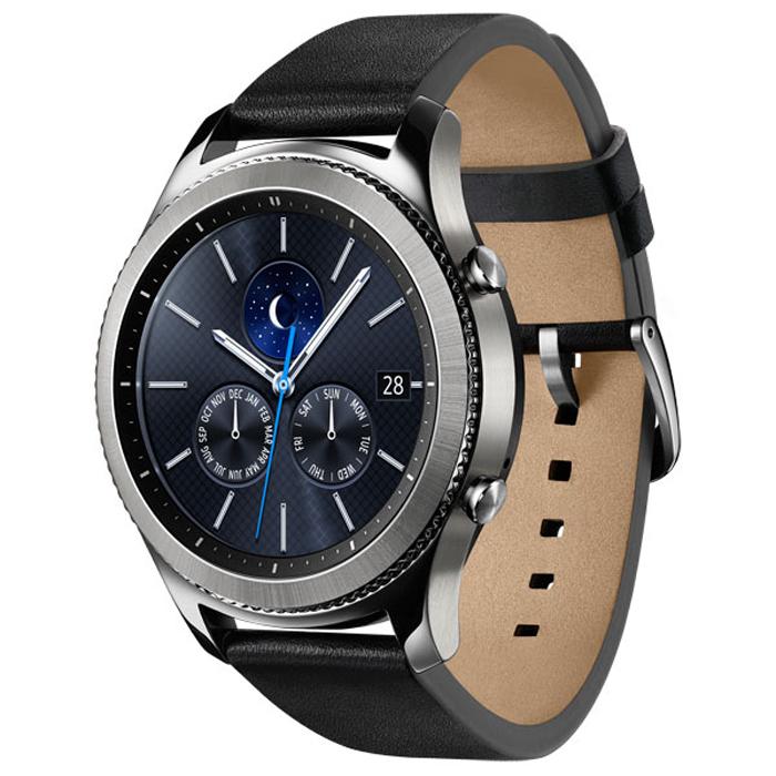 Умные часы Samsung SM-R770 Gear S3 Classic, серебро