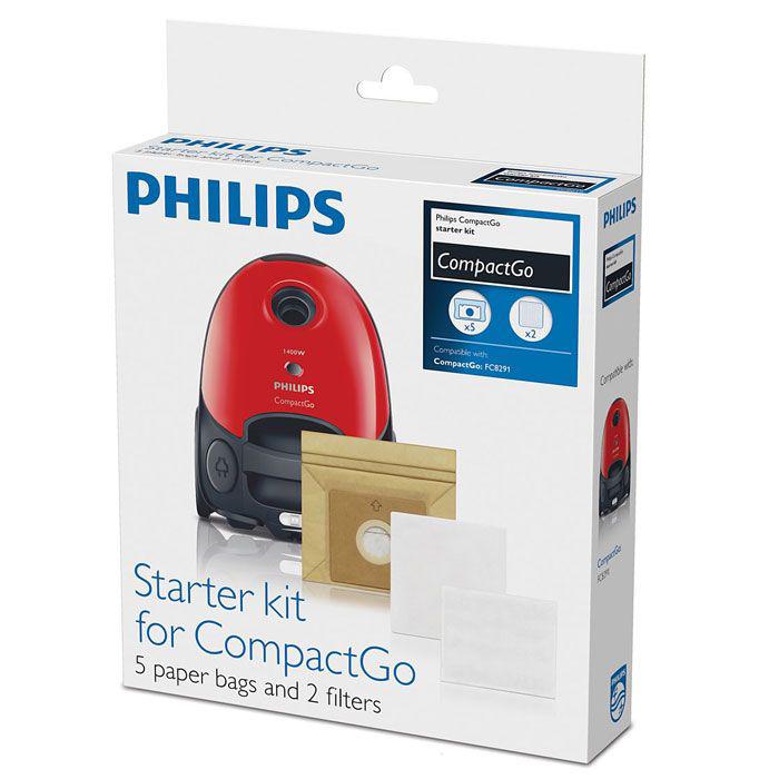 Пылесборники Philips FC 8018/01 (5 штук) для FC 8291