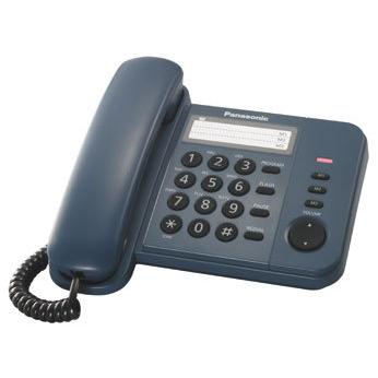 Телефон Panasonic KX-TS2352RUC голубой