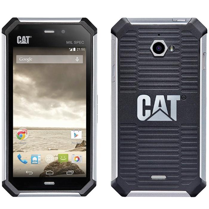 Смартфон защищенный Caterpillar CAT S50, cерый с защитой от воды и пыли