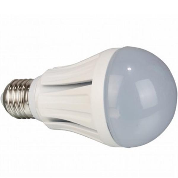 Светодиодная лампа Crixled А60 E27 10W 220V теплый белый свет, матовая