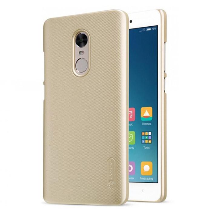 Чехол Nillkin Super Frosted Shield Case для Xiaomi Redmi Note 4X, золотистый
