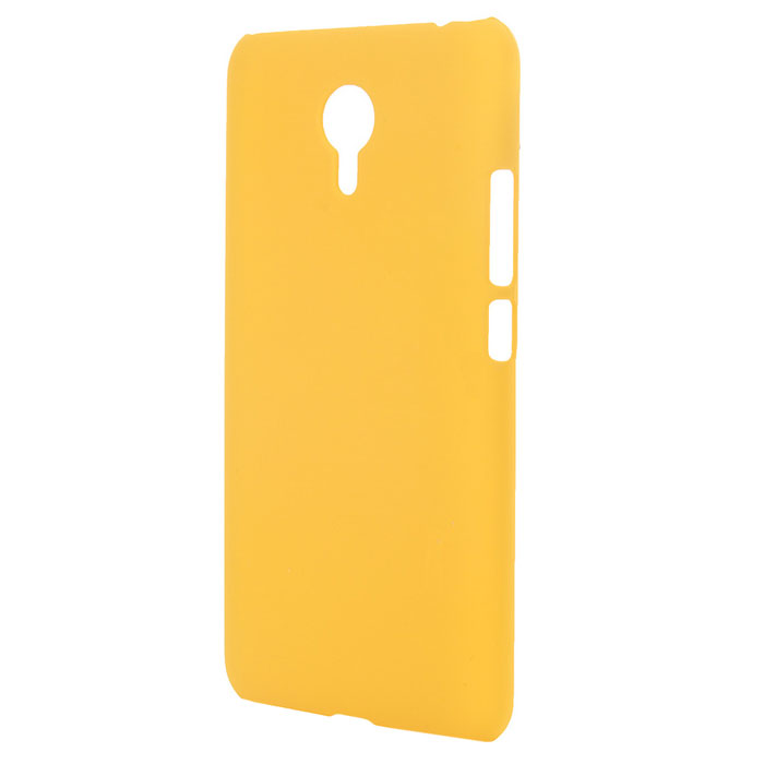 Чехол SkinBox case для Meizu M2 Note, желтый