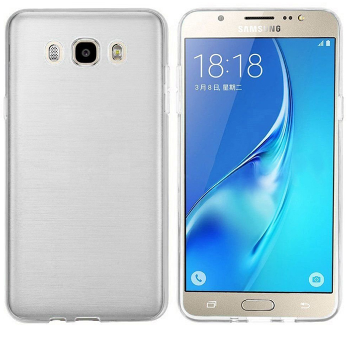 Чехол Samsung Slim Cover для Galaxy J7 (2016) SM-J710FN, прозрачный