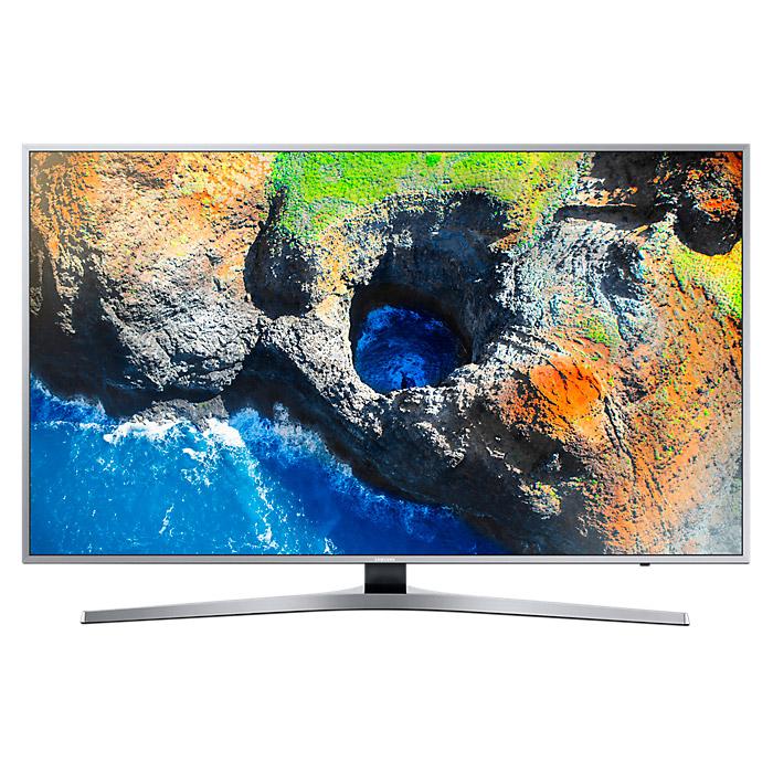 Телевизор ЖК 49″ Samsung UE49MU6400UX серебристый