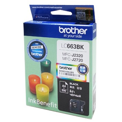 Картридж Brother LC-663BK Black