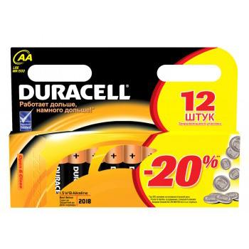 Батарейки Duracell LR6-12BL Basic AA 12шт.