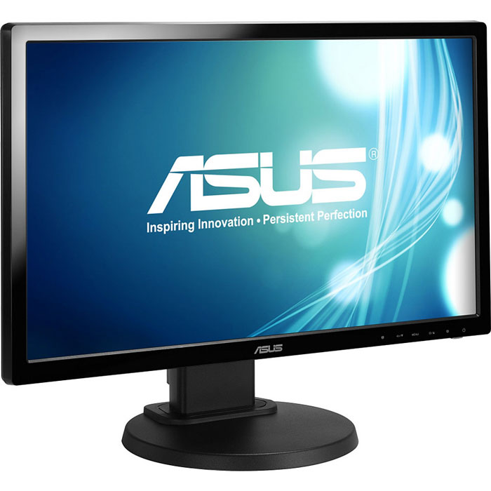 Монитор ЖК ASUS VE228TLB 21.5″ black VGA DVI