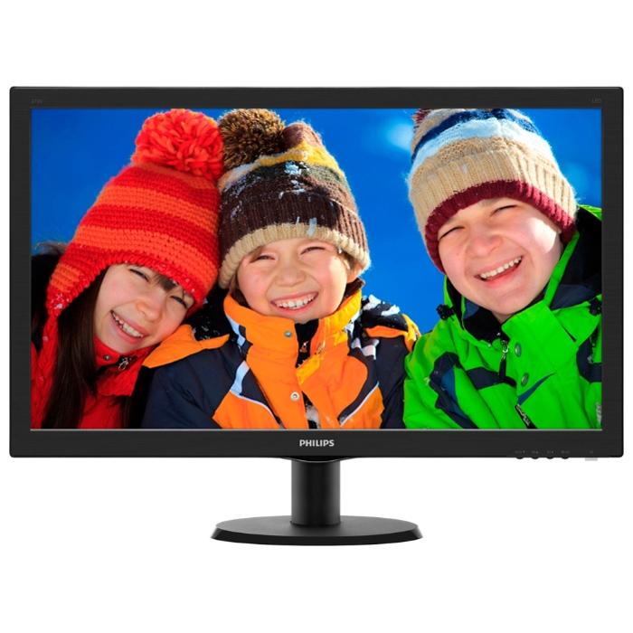 Монитор ЖК Philips 273V5LHAB 27″ black VGA DVI HDMI