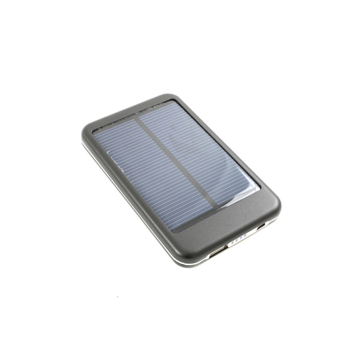 Внешний аккумулятор универсальный KS-is KS-202B с солнечной панелью 5000mAh черный