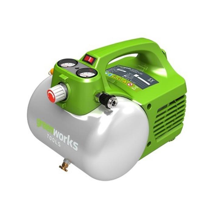 Компрессор Greenworks 230V GAC6L 4101302