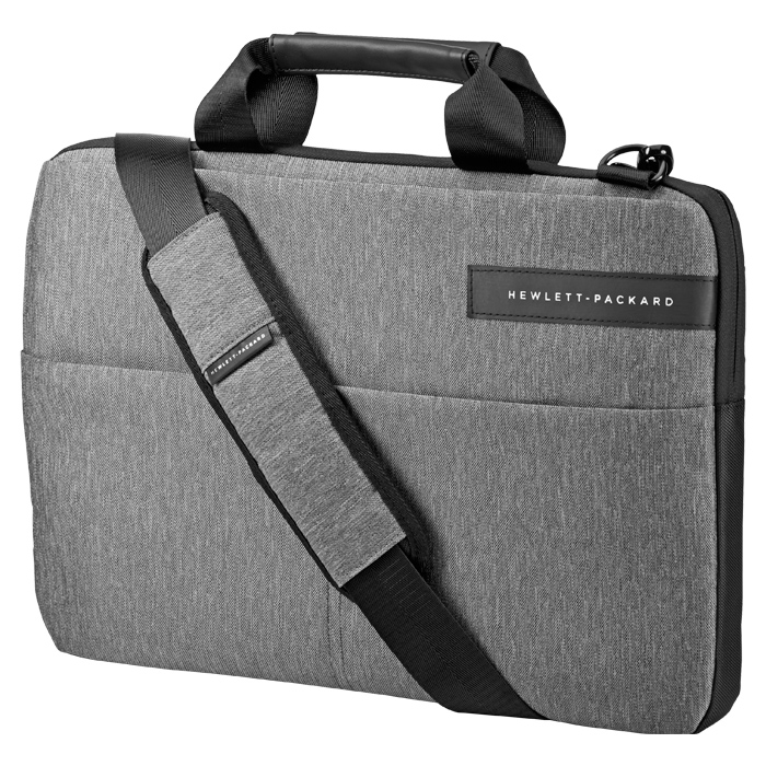 Сумка 14″ HP Signature II Topload Case, черно-серая ( L6V67AA )