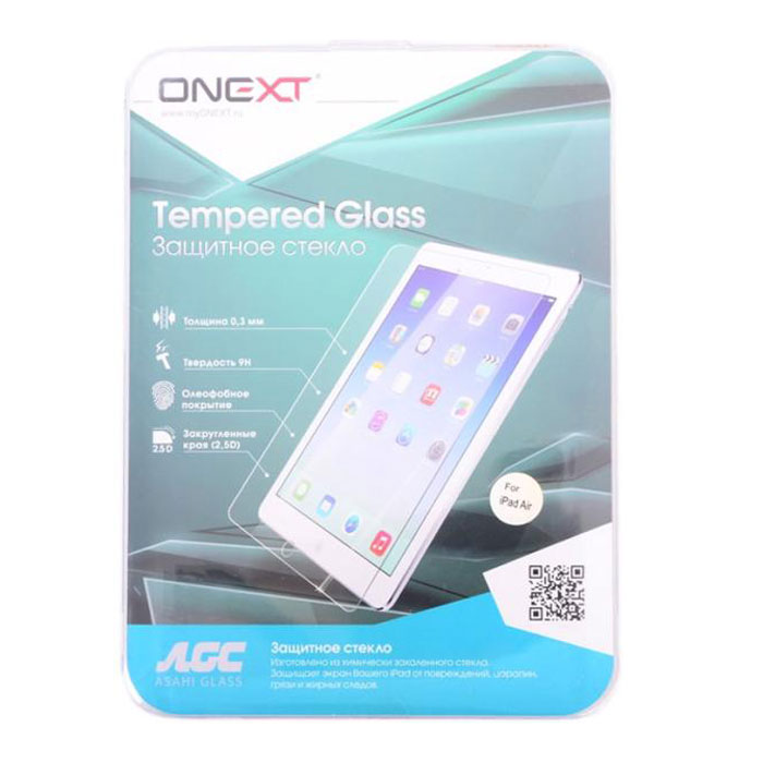 Защитное стекло Onext для Apple iPad Mini Retina