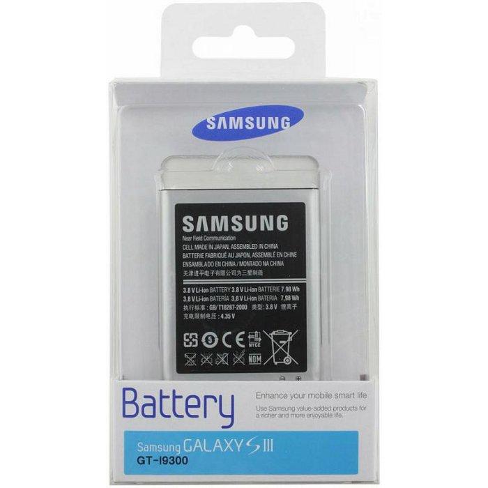 Аккумулятор для сотового телефона Samsung EB-L1G6LLUCSTD для Galaxy S3 I9300I9300II9301I9300DS
