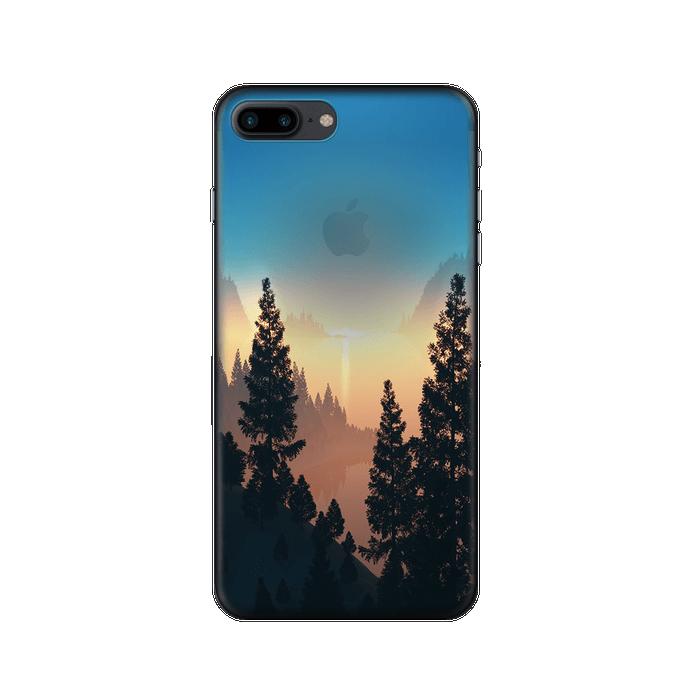 Чехол Deppa Art Case с пленкой для iPhone 7 Plus, Nature, Озеро