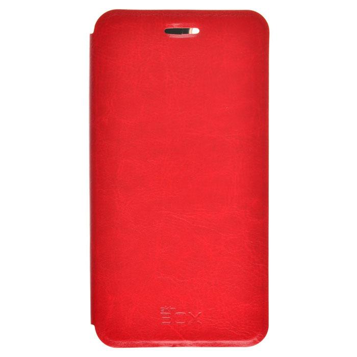 Чехол Skinbox Lux для Lenovo Vibe K5 A6020 (A6020A40)/K5 Plus (A6020A46) красный