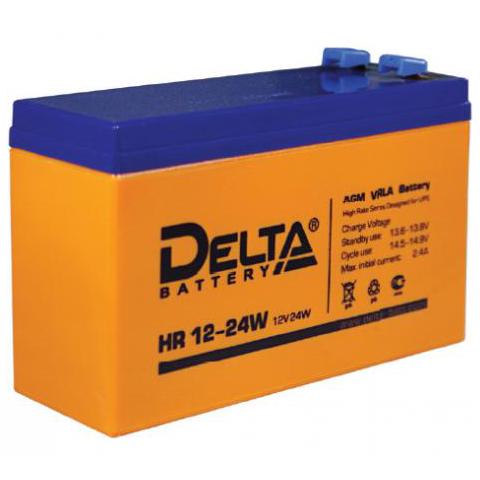 Батарея Delta HR 12-24W (12V 6Ah)