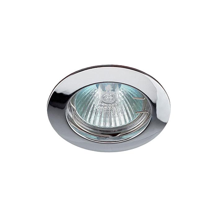 Светильник ЭРА C0043825 KL1 SN MR16 12V/220V 50W сатин никель, литой